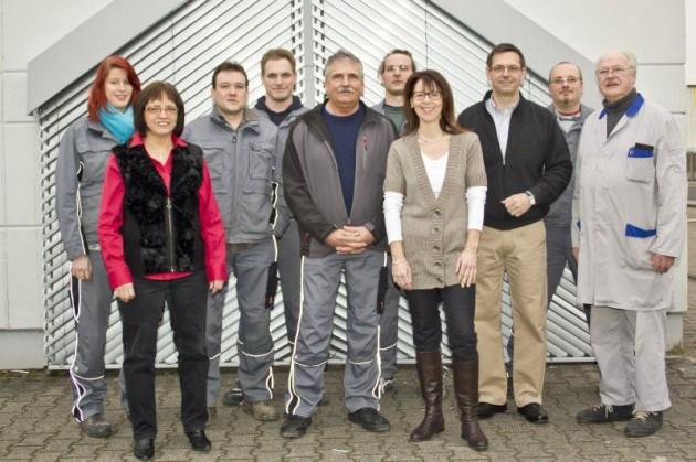 Die Mitarbeiter der Firma Rolladen-Wagner GmbH.